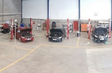 VASS Motor Works Garage inside